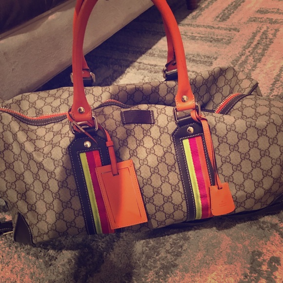 7b8284310a41 Gucci Bags | Super Rare Duffle Bag | Poshmark